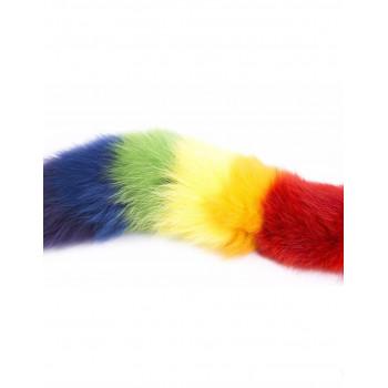 Plugs y Bolas Tapón /Plug Anal Cola Multicolor - Orgullo LGBT