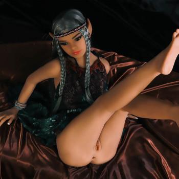 Muñecas Sexuales Anime  Muñeca Sexual de Fantasía - Sexy Elfo Flora 155 cm