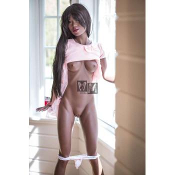 Muñecas Sexuales Exóticas  Muñeca Erótica Piel Morena - Celia 168 cm